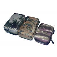 Quality Custom Empty Power Bank Carry Case Durable With EVA Plate , Camouflage Color wholesale