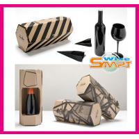 China 2013 Hot Sale Wine Packaging Boxes with Button Closure, Drawstring, Pvc, Pet, Eyelet on sale
