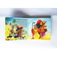 China Modern Pop Up Book Printing , Book Cover Printing Services Gloss Lamination on sale