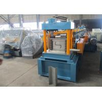 Quality Auto PLC Control Z Purlin Roll Forming Machine with Engineer Oversea Service wholesale