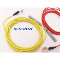 China EEG Machine Connector Elecrodes Cable 1.5M High Quality Eeg Cup Electrodes on sale