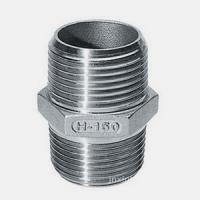 Quality Hex Nipple , Stainless Steel Threaded Pipe Fittings 316 wholesale