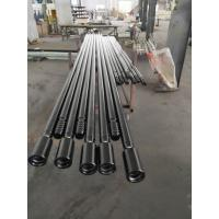 Quality Round / Hex MF Extension Threaded Drill Rod T38 1220mm For Quarrying Tunneling Blasting wholesale