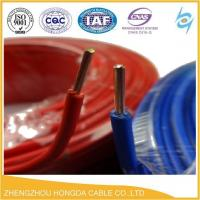 Quality 300/500V BV / RV / BVV 1.5mm 2.5mm 4mm 6mm 10mm 16mm electric cable wire made in china for house industrial wholesale