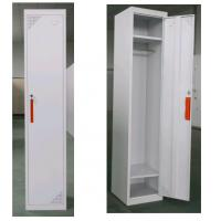 Cheap Staff employee use white grey color steel locker with lock for sale