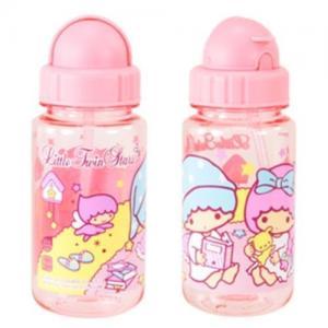 Quality 14oz Authentic Sanrio Little Twin Stars Tritan BPA FREE Kids Water Bottle+Straw wholesale