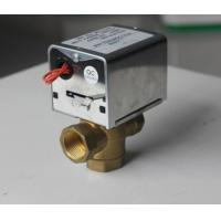Quality 2 / 3 Port Motorized Zone Valve Replacement Electric Motor Power CE Listed wholesale