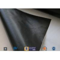 Quality Black Silicone Coated Fiberglass Fabric For Thermal Insulation Blanket wholesale