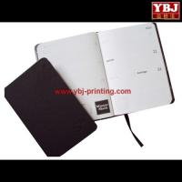 Quality china guangzhou ybj high quality notepad with pen , leather note book for business wholesale