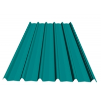 China Corrugated Iron 1250mm 0.13mm Galvanized Roofing Sheet on sale
