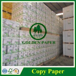Cheap copy paper manufacturers 80gsm grade A 100%virgin pulp photocopy paper for sale