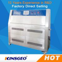 Quality PID SSR Control 304 Stainless Steel UV Testing Machine 1600 Hours Lifetime Of Lamp wholesale