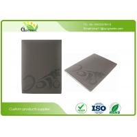 Quality Personalised Embossed Notebooks with 2mm Thick Greyboard Cover 100 Sheets Inside Paper wholesale