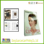 Quality Magazine Book/Saddle Stitch Colorful Book Printing wholesale