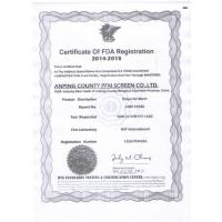 Anping County Comesh Filter Co.,Ltd Certifications