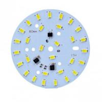 China Immersion Gold Double Side PCB Board Round Led PCB Board 1W - 100W on sale