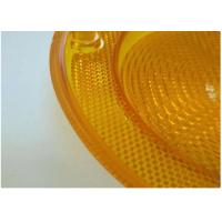 China Yellow Car Plastic Molding Lamp Lens Cases , Hot Runner Injection Auto Parts on sale