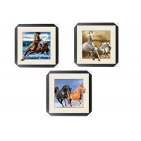 Quality Office / Hotel Decoration Animal Picture 5d Lenticular Picture With Frame wholesale