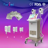 Quality High efficient no pains no risks cryolipolysis fat freezing slimming machine handle changeable 6 EVM control wholesale