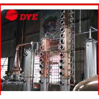 Quality Micro Copper Distillation Equipment For Low / High Alcohol Concentration wholesale