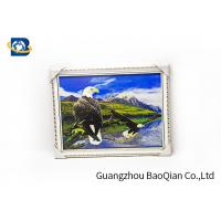 China 3D Gift PET 3D Lenticular Pictures Flips Photo Of Eagle Animal Support Printing Service on sale