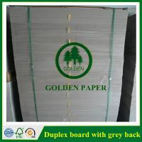 Buy cheap Duplex board with white back from wholesalers