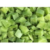 Quality FDA IQF Frozen Vegetables Sweet Green Pepper Diced Bell Pepper Cubes wholesale