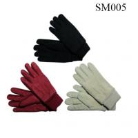 Quality Ladies suede gloves high quality at cheap price SM005 suede glove fashion glove wholesale