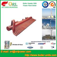 Quality 100 Ton Boiler Header Manifolds Carbon Steel Boiler Unit for Natural Gas Industry wholesale