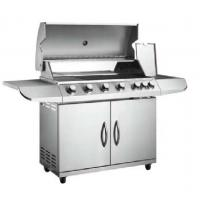 Quality 6 main burner and 1 side burner gas grill barbecue wholesale