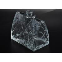 Quality Empty glass perfume bottles / creative clear glass spray perfume bottles most beautiful wholesale