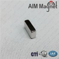 Quality NdFeB block magnet N50 20*10*4mm with NiCuNi coating wholesale