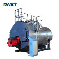 China Low pressure 6t waste oil water tube industrial steam boiler for food industry on sale