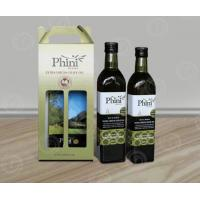 Quality Take-away Corrugated Cardboard Wine Box with Handle in 1,2 and 3 or 4 bottles wholesale