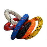 Cheap 10.2MM X 60M Polyester nylon 32 48 braides safety climbing rope code line for sale