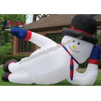 Quality Customized Outdoor Inflatable Christmas DecorationsGaint Inflatable Snowman wholesale