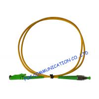 Quality Telecoms Fiber Optic Patch Cord , Durable FC / APC to E2000 / APC Corning Fiber wholesale
