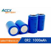 Quality CR2 3.0V 1000mAh LiMnO2 Battery non-recharegable battery primary battery wholesale