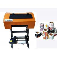 Quality Roll To Roll Label Printer Multi Purpose , Digital Roll Label Printing Machine wholesale