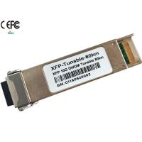 Quality Cisco 80km 10G DWDM tunable XFP Optical Transceiver 50GHz duplex LC wholesale