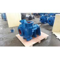Quality A05 Chrome Slurry Pump War-man 4 Inch Discharge Metal for Slurry and Gravel Painted in RAL5015 wholesale