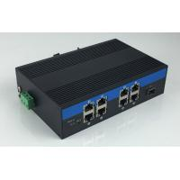 Quality 8-Port 10/100/1000Base-Tx and 1-Port 1000Base-Fx Industrial Grade Fiber Switch with 8-Port POE wholesale