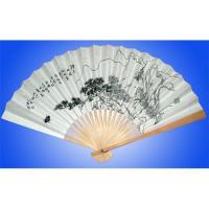 China Paper promotion fan on sale