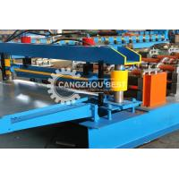 China Galvanized Metal Sheet Forming Machine / Building Material Machine Low Noise on sale