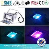 China Remote Control RGB LED Flood Outdoor Light IP65 with 3 years warranty  CE & RoHS certific on sale