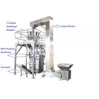 China Fully PLC Multihead Weigher Packing Machine For Peanut / Dry Fruits / Corns With Vacuum Sealing on sale