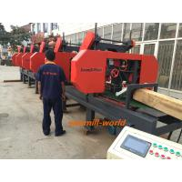 Quality China 2/3/4/5 heads wood bandsaw mill Multiple Heads Horizontal Band Resaw machine wholesale