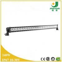 Quality Made in China 240w single row led light bar 4wd off road led light bar wholesale