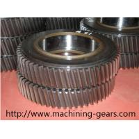 Quality Machinery Parts Large Diameter Spur Helical Gear 20mm - 2200mm Diameter wholesale