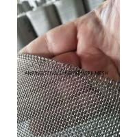 China Stainless steel wire mesh with reinforcement wire on side,strong quality woven wire mesh on sale